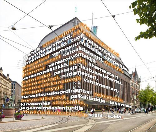 Viikonlopputyö Helsinki